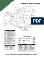 DCA40SSKU4F2 Generator and Engine Wiring Diagram