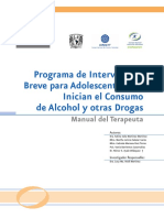 Manual de Intervencion Breve Para Adolescentes