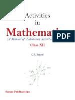 activity book class 12 maths