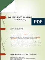 Iva (Impuesto Al Valor Agregado) Yovana Araujo