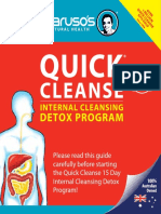 Quick Cleanse 15 Day Detox