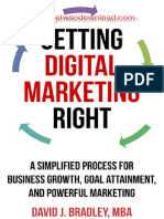 8.2 Getting Digital Marketing Right by David Bradley