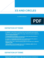Angles and Circles