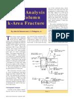 AISC Failure Analysis Column K-Area Fracture
