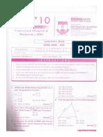 Iom Class 3 2010 Set1