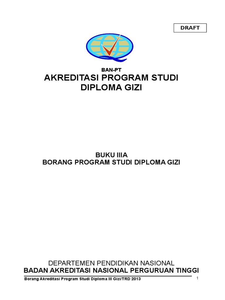 Borang 3a Terbaru D3 Gizi Lam Pt Kes Copy