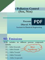 air polluition control