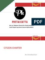 CITIZEN CHARTER prepared by @postalkatta Telegram channel.pdf