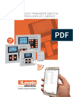 AUTOMATIC TRANSFER SWITCH CONTROLLERS ATL SERIES