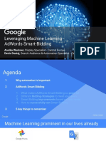 Google Leveraging Machine Learning_AdWords Smart Bidding