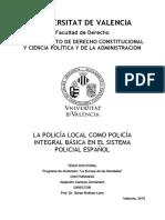 La Policía Local en España