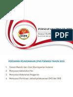 Persiapan CPNS 2020 Formasi 2019