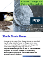 Climate Change and water in Bangladesh