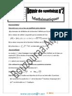 Devoir de Synthèse N°2  -Math   -BacSciences exp (2013-2014)Mr Bouzouraa.Anis.pdf