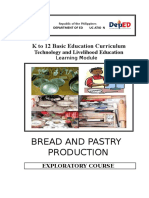 Bread and Pastry Grade 7 and 8