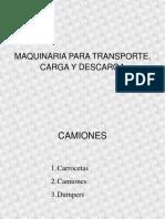 MAQUINARIA  descRga 21