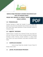 Kertas Kerja Ceramah Kesihatan Dato Dr Nordin Darus