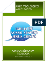 09 Ministerio Pastoral I