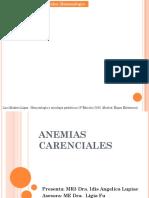 Anemias Carenciales Idis Lupiac
