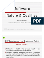 Software Nature Qualities