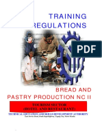Bread and Pastry Production NC II – 18 Days