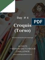Day 4 #Fashionsketchbookchallenge