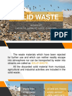 Final Report SOLID WASTE