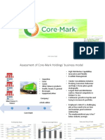 core mark valuation