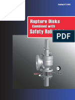 Bsb Rupture Disk With Safety Relief Valves