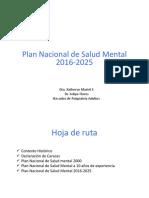 Plan Nacional de salud mental en Chile