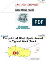 Training - Vehicle Blind Spots