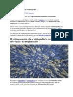 Ortofotogrametría y La Ortofotografía