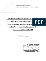 Ferrer Cayon.- La instrumentalización política de la cultura durante el primer Franquismo.pdf