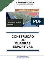 Construção de Quadras Esportivas