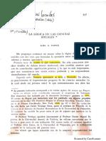 Popper - Lógica de Las Ciencias Sociales U.valpo