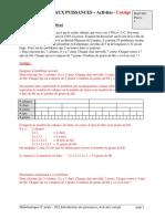 2E2 Intro-puissances 9N1 Activites Corrige