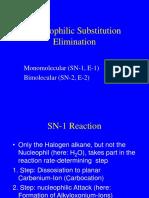 Vorlesung 02 SN 1 Reaction