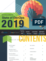 State of Devops 2019