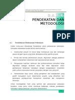 5_bab e Pendekatan Dan Metodologi