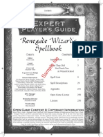 Renegade wizards spellbook