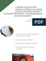 Presentación del decreto 1330 de 2019.ppt