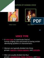 Classificationofhumanvoice