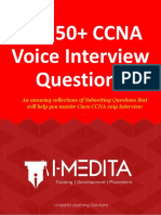Ccna voice interview questions