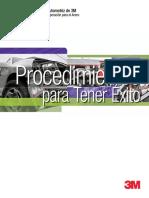 MANUAL TRABAJOS EN CARROCERIAS Y PINTURAS DE 3M