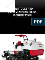 Farm Tools and Equipment