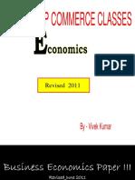 TYBCom Economics Notes