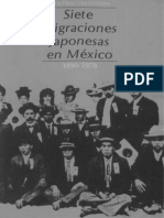 Siete Migraciones Japonesas en Mexico 1890 1978 924624