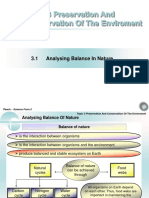 Chapter 3 - Analysing the Balance in Nature