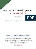 2. 13 Sept 2019 - Multiple Intelligences of Leadership (Kuliah 2)