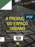 A PRODUÇÃO DO ESPAÇO URBANO - Carlos, Souza, Sposito 2018 (p.109-122).pdf